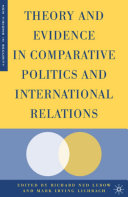 Theory and Evidence in Comparative Politics and International Relations Pdf/ePub eBook