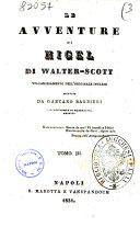 Le avventure di Nigel di Walter Scott