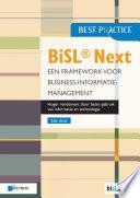 BiSL® Next – Een framework voor Business-informatiemanagement 2de druk