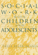 Social Work with Children and Adolescents
