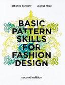 Basic Pattern Skills for Fashion Design Book