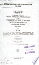 International Copyright communication Policies Book