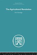 The Agricultural Revolution Pdf/ePub eBook