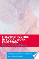Field Instruction in Social Work Education