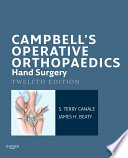 Campbell S Operative Orthopaedics Hand Surgery E Book