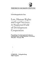 Law, human rights and legal services: a neglected field of ...