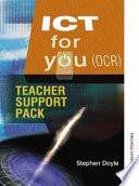 ICT for you Teacher Support Pack OCR Book