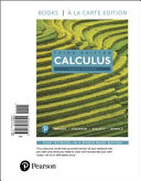 Single Variable Calculus  Books a la Carte Edition