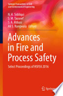 Advances In Fire And Process Safety Book PDF