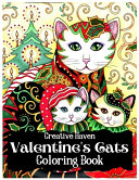 Creative Haven Valentine s Cats Coloring Book