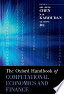 The Oxford Handbook Of Computational Economics And Finance Book PDF