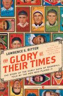 The Glory of Their Times Pdf/ePub eBook