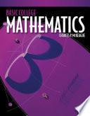 Basic College Mathematics: A Text/Workbook