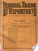 Federal Trade Reporter