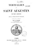 Tertullien et Saint Augustin