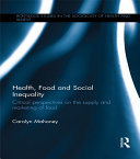 Health  Food and Social Inequality