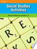 Social Studies Activities