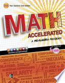 Glencoe Math Accelerated, Student Edition