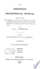 The Edinburgh Philosophical Journal Book