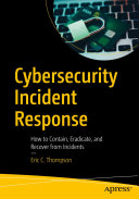 Cybersecurity Incident Response Pdf/ePub eBook