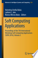 Soft Computing Applications