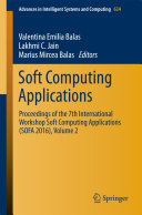 Soft Computing Applications: Proceedings of the 7th International ...