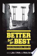 Better than the Best