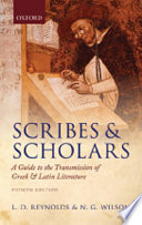 Scribes and Scholars