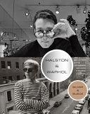 Cover of Halston & Warhol : silver & suede