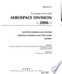 Proceedings of the ASME Aerospace Division