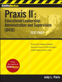 CliffsNotes Praxis II: Educational Leadership: Administration and Supervision (0410)