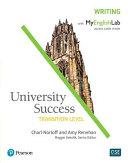 University Success Writing  Transition Level