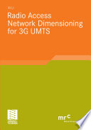 Radio Access Network Dimensioning for 3G UMTS Book