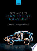 """Introduction to Human Resource Management"" by Paul Banfield, Rebecca Kay, Dean Royles"