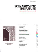 Scenarios For The Future Book