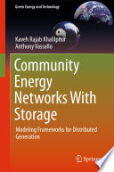Community Energy Networks With Storage