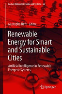Renewable Energy for Smart and Sustainable Cities Book