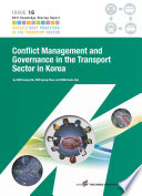 Conflict Management And Governance In The Transport Sector In Korea Book PDF