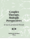 Couples Therapy  Multiple Perspectives