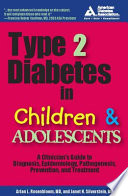 Type 2 Diabetes in Children and Adolescents Book