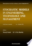 Stochastic Models In Engineering Technology And Management Proceedings Of The Australia Japan Workshop Book PDF