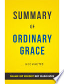 Ordinary Grace: by William Kent Krueger | Summary & Analysis