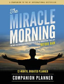 The Miracle Morning Companion Planner Book