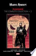 Marvel Knights Punisher By Garth Ennis
