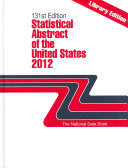 Statistical Abstract Of The United States 2012