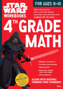 Star Wars Workbook  4th Grade Math