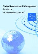 Global Business and Management Research  An International Journal Vol 1 Nos  3   4