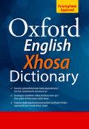 Books - Oxford English Xhosa Dictionary (Hardback) | ISBN 9780195702903