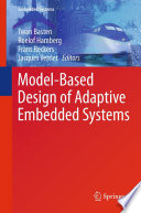 Model Based Design of Adaptive Embedded Systems Book
