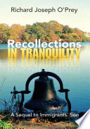 Recollections In Tranquility Book PDF